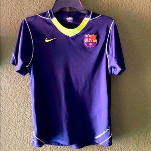 Barcelona Nike fit dry soccer shirt